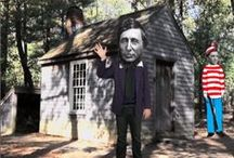 Emerson & Thoreau / Ralph Waldo Emerson & Henry David Thoreau / by Terri Guillemets