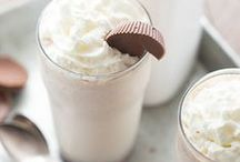 What's MILK-shaking? / Quick, find a straw! So many milkshakes are waiting...