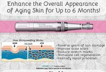 Microneedling / Collection of pins about the benefits of microneedling for skin rejuvenation. #microneedling #kissmeci