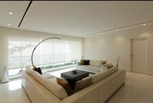 Apartment by the bay / Interior design by We design studio