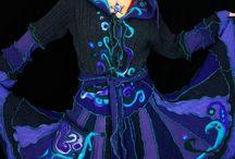 Återbrukade magiska kläder