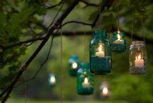 Kültéri világítás,dekoráció