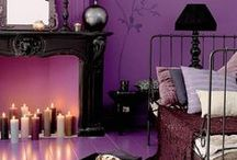Purple / Purples pop in any home! check out some of these purple projects and designs