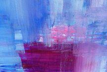 Patchwork / Acrylic canvas - 90cm x 90cm