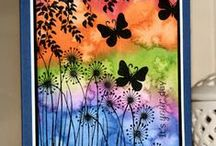 Butterflies / Quilts and cards