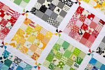 Scrap quilts and ideas / Nice use of scraps
