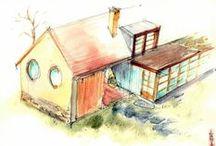 Drawings from VastuSPACE design work