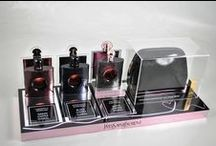 Fragrance displays / Wenbar are proud producers of fragrance displays for major brands such as Chanel and Estee Lauder