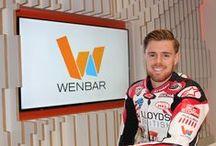 Sponsorship of Danny Buchan - British Superbike rider / Photos of Dannys journey and relationship with Wenbar Ltd