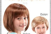 """""""Covering young heads, Healing young hearts"""" / Hair loss for children can be really hard and traumatic. Ideally, alternative hair should be a choice, not a necessity. The truth is that not only adults are afflicted with hair loss. Boost your kid's confidence with a selection of durable kid's wigs."""