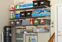 Home Organization Hacks / Tips and tricks to keep your house clutter-free.