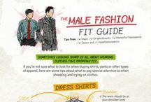 Men's Fashion Tips & Hacks / Iron out the wrinkles. Tie a tie. Dress to impress.