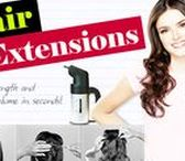 """""""Hair Extensions""""   Clip-In Extensions – Add Length and Volume in Seconds! / We offer a board assortment of the best and latest styles from the finest brands. Women of all ages and backgrounds are turning in to hair extensions to add length, volume, texture and color to their existing hairstyles. Hair Extensions easily amp up your look; go from short to long, limp to full into a snap! These products are great if you're looking for a quick and easy way to add natural looking hair into your own without damaging your existing hair."""