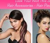 Look Your Best This Summer with Hair Accessories – Hair Pieces and Hair Pins