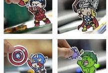 Superheroes (Mostly Marvel) /   / by Morgan Adams