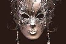 Masks / On my bucket list...travel to Venice...Carnival!! Eventually paint a series of masks!
