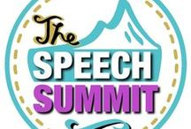 Teachers Pay Teachers: The Speech Summit / Take a look at my TPT products.