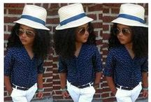 Little Fashionistas / Little girls and fashion