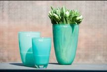 Vases and pots / DutZ Collection mouthblown coloured vases and pots