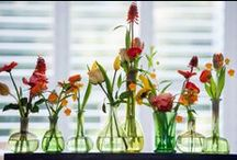 Sets / DutZ Collection sets of little mouthblown flowervases