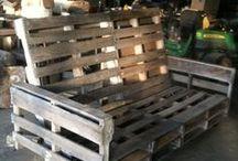 Pallet furniture / Lavahuonekaluja