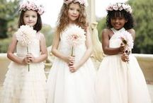 Flower Girls / Ideas for the youngest and the cutest of your wedding party. Flower girls, Flower girl dresses, diy flower girl dresses, Flower girl accessories. #flowergirls #weddings