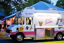 Food Trucks / Want a new and fun way to feed your guests on your wedding day? The trend of food trucks is a perfect way to do this. food trucks, dessert trucks, appetizer trucks, midnight snacks, entree trucks. #food #weddings