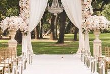 Fairytale Weddings / Make your wedding into a magical experience that will bring your guests to another world. fairytale weddings, fairy lights, disney weddings, princess weddings. #fairytale #weddings
