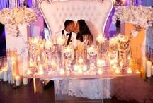 Sweetheart Tables / Special ideas for the sweet couples of the day! #diy #wedding #sweethearttables