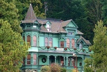 Landscape - Victorian Ladies / What can I say?  I love Victorian Homes.