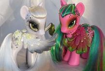 Over the Rainbow - With Custom G4 Style / Custom My Little Ponies done using G4 pony figures.