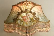 Design and Decor - On the Fringe / Fringed Victorian-style, Art deco, and similar lampshades.