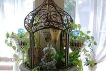 Design and Decor - Cloches and Cages / Favorite Cloches and Birdcages