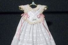 christening gowns stand. & mini / christening gowns / by diana pratt