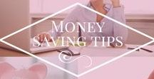 Money Saving Tips / Pins relating to saving money, budgeting, making your dollar go further as a single mom.