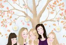 In the Autumn / Fantastic ideas for original Autumnal weddings.