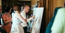 Quirky Guestbooks & Photos / Beautiful and alternative Guestbook and Photo ideas