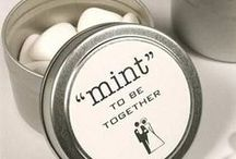 Wedding Favours / Original favour ideas to give your guests.