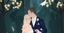 A Fairytale Wedding / A board to inspire all of you that dream of an enchanted, fairytale wedding day.
