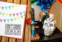 Día de Muerto / For those wishing for a truly quirky, alternative wedding theme, look at having a Mexican Fiesta or Day of the Dead wedding complete with Sugar Skulls, Brightly Coloured Bunting and Maracas!