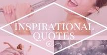 Inspirational Quotes / Board for inspirational quotes and reflections.