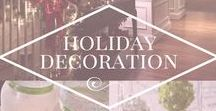 Holiday Decoration / Board for Christmas holiday decoration ideas, Christmas holiday design ideas, Christmas holiday DIY projects and more