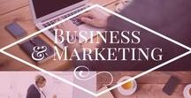 Business and Marketing / Business and Marketing tips and ideas. If you are looking into starting a business, or if you have a business and need tips for marketing or growing your business.