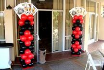 Casino Night Ideas / These are photo's from other talented artist.  These should give you ideas and we can customize to your needs.