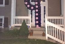 Birthday Party Balloons / These are balloons that we have made for birthdays