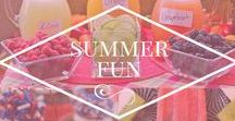 Summer FUN / Summer fun Pinterest boards. Delicious summer recipes, fun summer activities, summer DIY for kids and more.