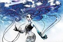 Ghouls and Mansters - Clawsome Canvas / This is for promotional and custom Monster High artwork.