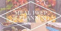 Meal Prep & Planning / Board dedicated to meal planning. Menus, planner printables, blog posts etc associated with meal/menu planning
