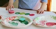 Easy Toddler Crafts / Simple but gorgeous art & craft ideas for very young kids