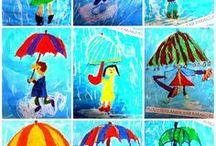Art Ideas for Kids / Art inspiration for teachers and parents alike